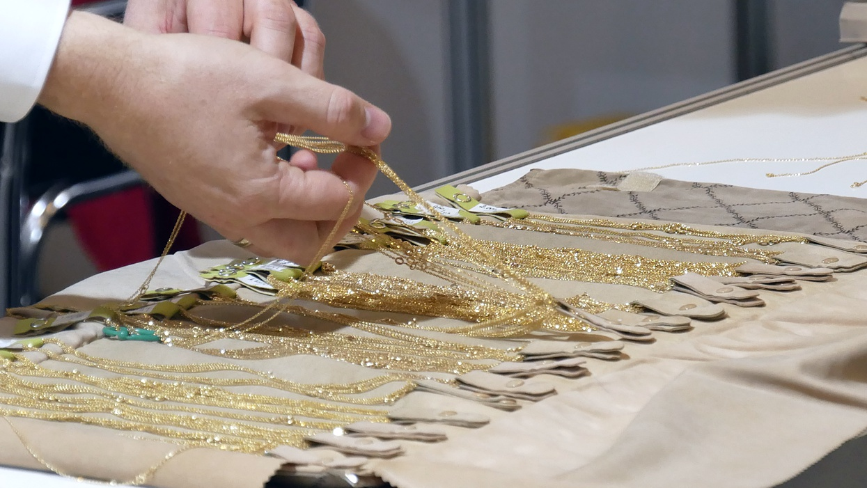 Gold jewellery presented at Jubinale CHRISTMAS 2019